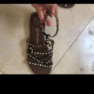 Jeffery Campbell sandal like new size 6
